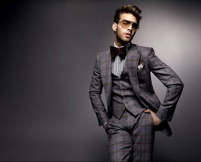 Dress Model  on With Hands On The Waist The Male Model Jon Kortajarena Is Posing In A