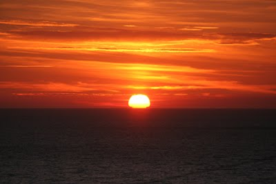 SUNSET OVER IRISH SEA 15-06-2010