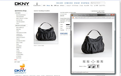 Just a few of the many purses I recently photographed for DKNY.