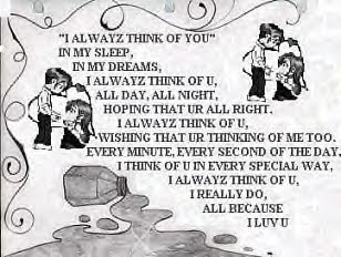 I love poems