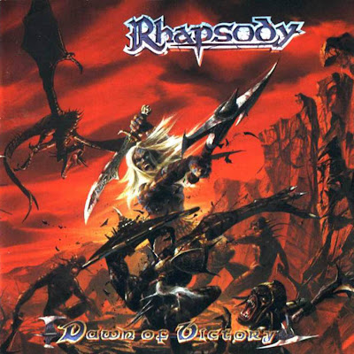 Rhapsody of Fire (Tolkien no murió, solo se dedicó al Power Metal) Dawn+Of+Victory+-+Front
