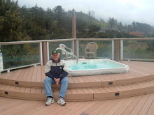 Our Oregon Jacuzzi!  So Powerful