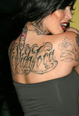 Kat Von D Tattoo artist. Posted by Artistic Bookings Makeup at 5:20 PM 0