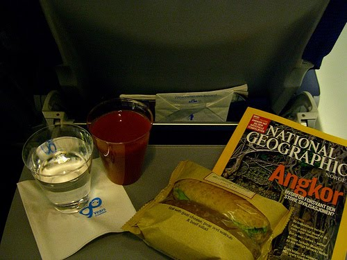 Breakfast on KLM.