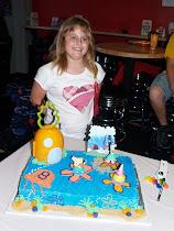 Presley 8th B-D cake