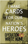 """PROUD"" Operation Write Home -Card Maker"