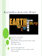 Poetry Month - Earth Day Acrostic Poems