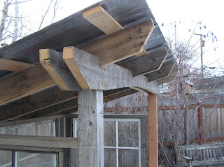 Montana Wildlife Gardener: Grill shed