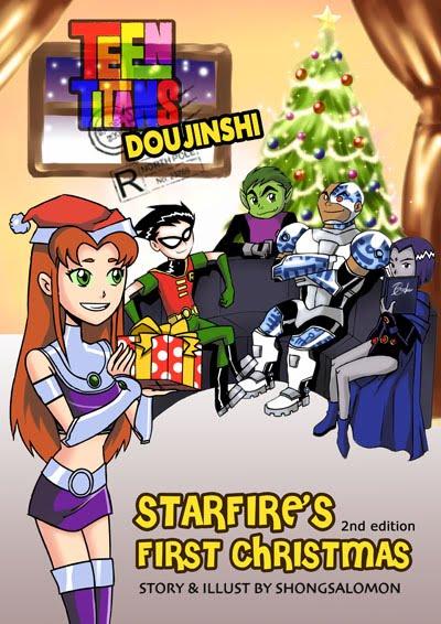 Teen Titans doujinshi. Teen Titans doujinshi