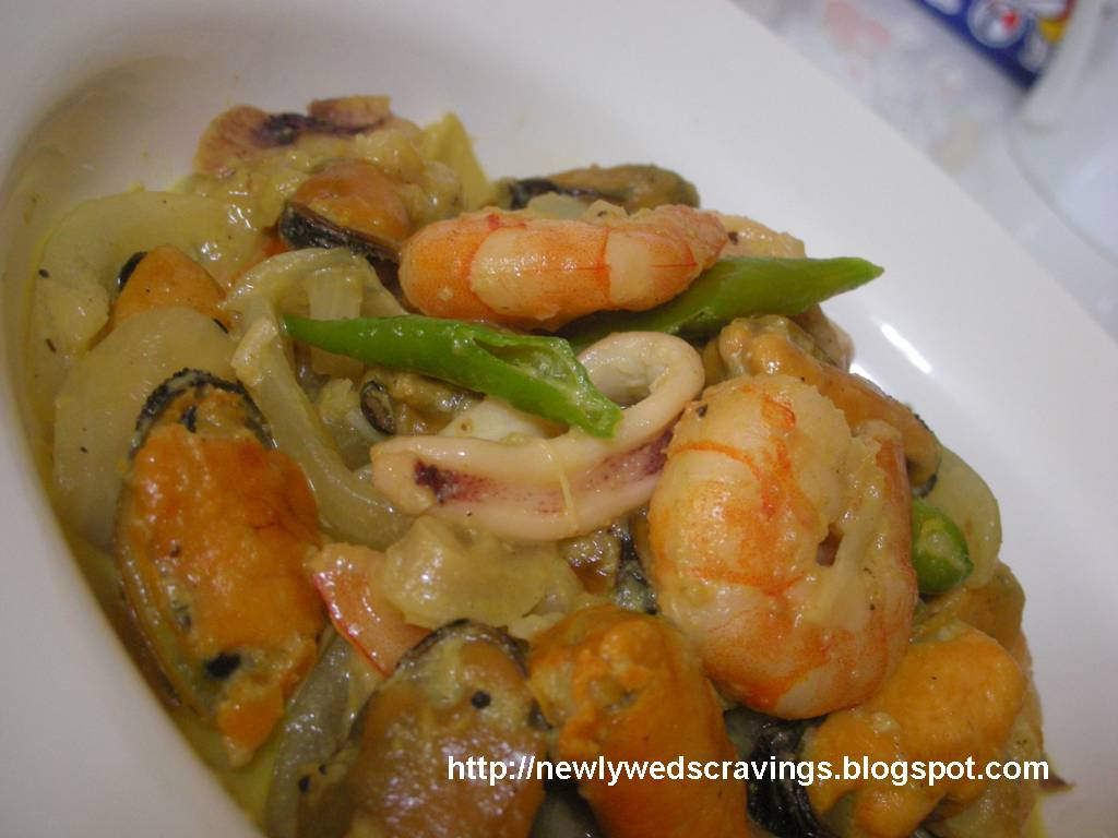 and seafood curry seafood curry recipe malaysian indian style seafood ...
