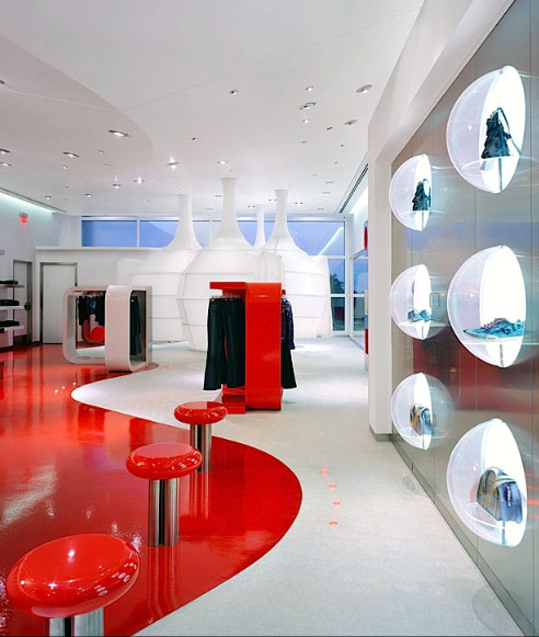 Uzumaki Interior Design: Fashion Store Interior Decorating Ideas ...