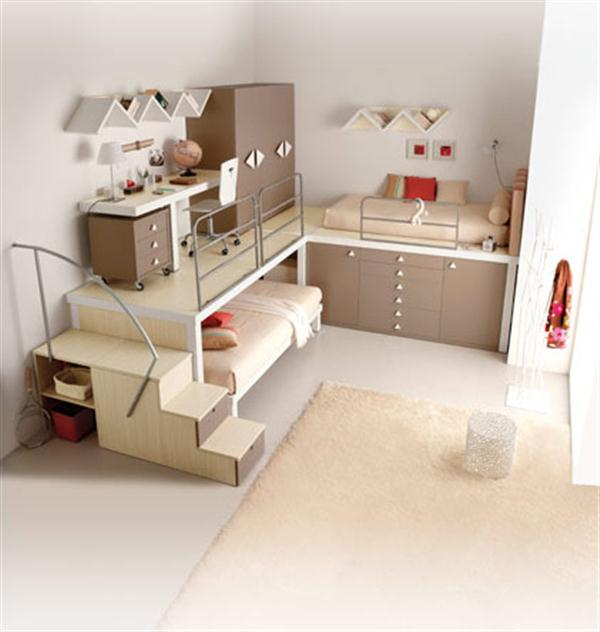 Uzumaki interior design funtastic cool bunk beds and lofts for kids and teenagers bedroom - Awesome beds for teenagers ...