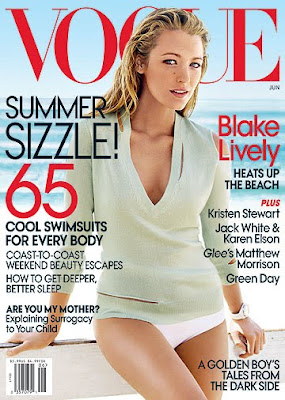 Blake Lively Vogue June 2010