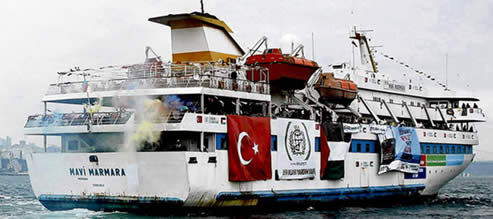 IDF Maritime hijacking or piracy mavi marmara