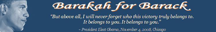 Barakah for Barack