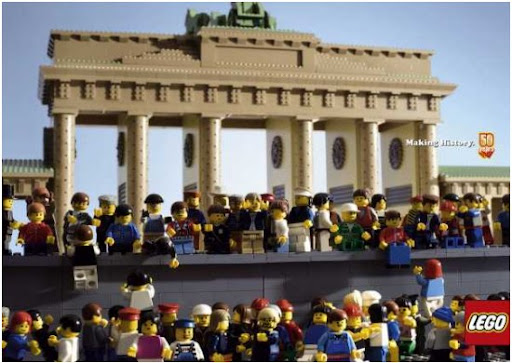Jung von Matt have recreated history by means of LEGO