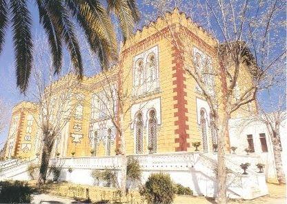 Dos Hermanas. Palacio de Alpériz, hogar del Pensionista