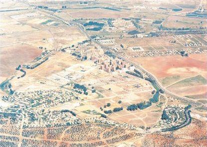 Dos Hermanas.Nucleo de Quintos, vista aérea.