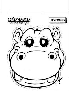 Visera Hipopotamo Moldes