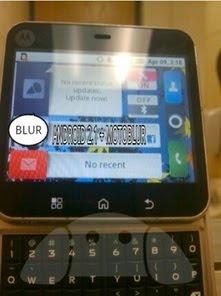 Motorola Milestone Square Slider