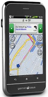 Asus-Garmin A10 GPS phone