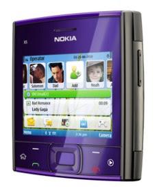 Nokia X5-01 music