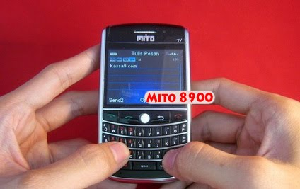 """New Handphone TV """"Mito 8900"""" With Blackberry Model and Dual Camera"""