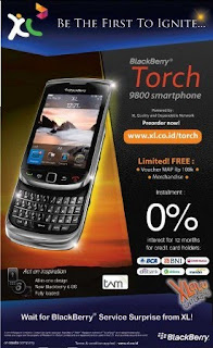 Blakberry Torch 9800
