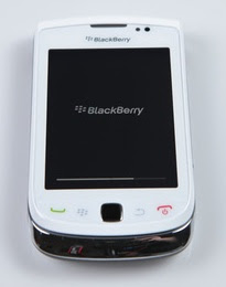 Blackberry Torch 9800 Pure White-9