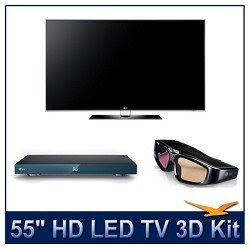 3D TV HD LED LG 55LX9500