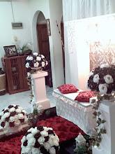 Pelamin Mini Majlis Pertunangan Izyan & Naim (17/04/2010) di Country Homes, Rawang