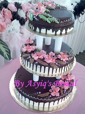 Kek hadiah dari Asyiq's
