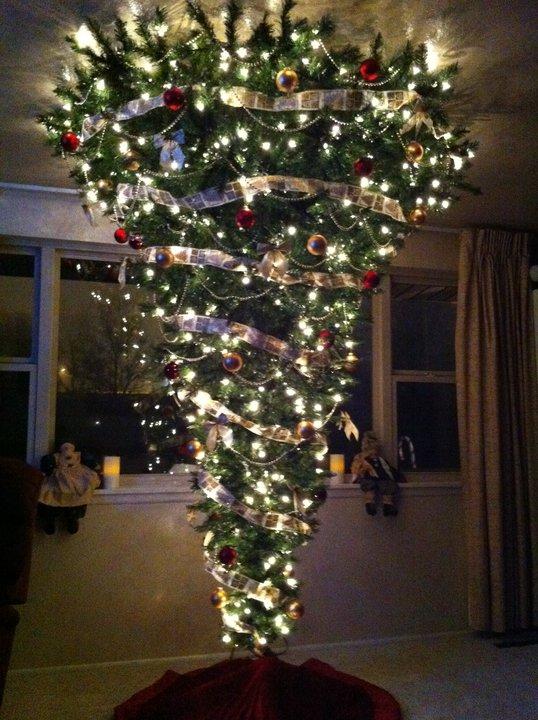 Word Havering Upside Down Christmas