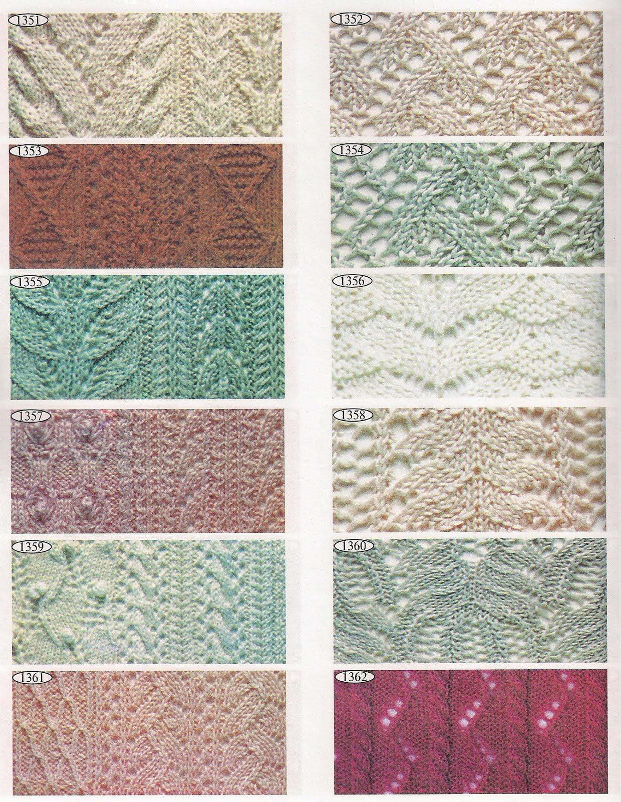 Скачать торрент 2000 эксклюзивных узоров для вязания (2000) 28