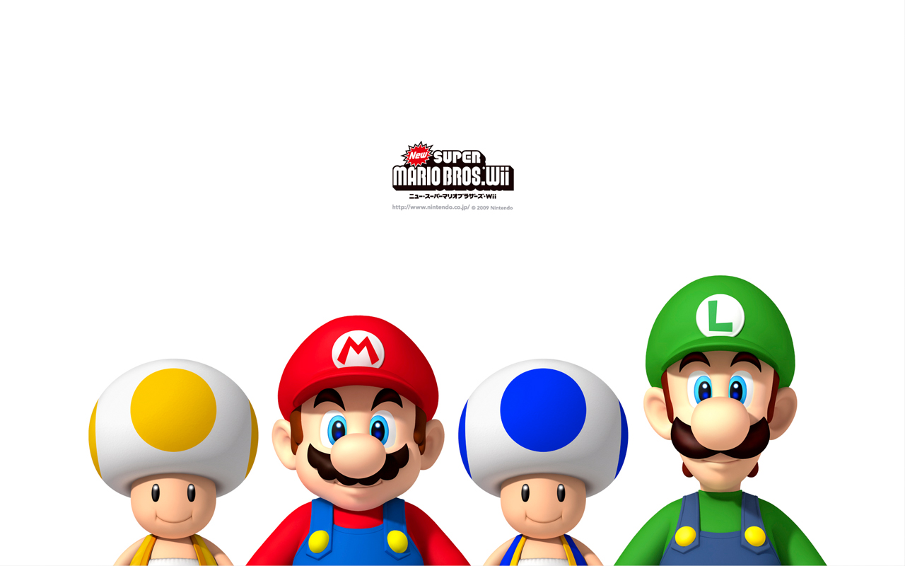 Super Mario HD & Widescreen Wallpaper 0.433528554717941
