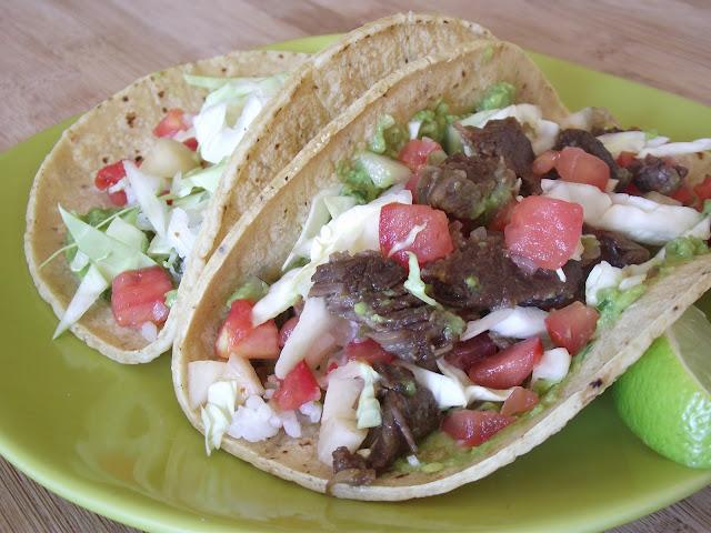 Cooking with Angus: Kalbi Jjim Tacos (Korean Braised Short Rib Tacos)