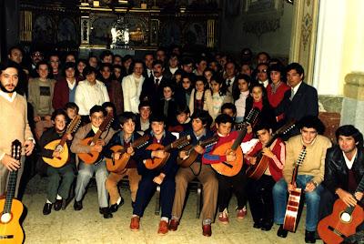 Foto realizada el 23/12/1981 (Ni son todos los que están, ni están todos los que son)