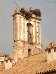 Antigua espadaña Hospital Morón