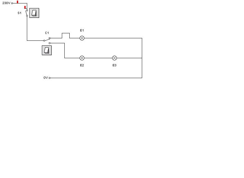 Practicas de electricidad practica n 5 puntos de luz y - Instalar interruptor conmutador ...