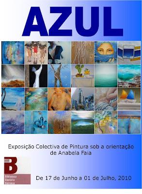"""""""AZUL"""" Inaugura na 5ª Feira"""