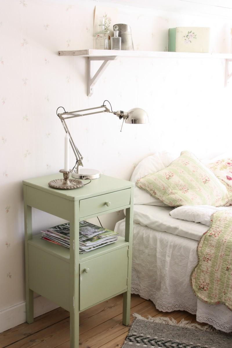 Nordingården : en grön touch i sovrummet....