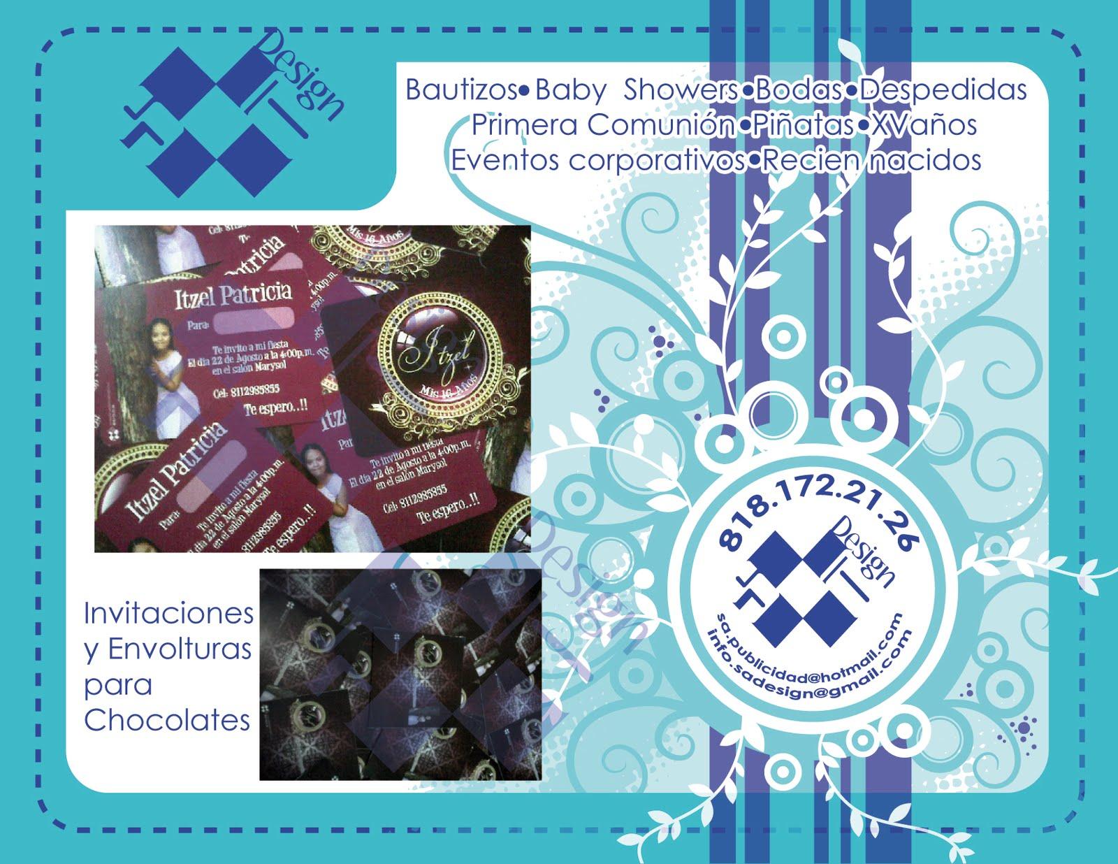 personalizados y publicidad: Invitaciones y Envolturas para chocolates