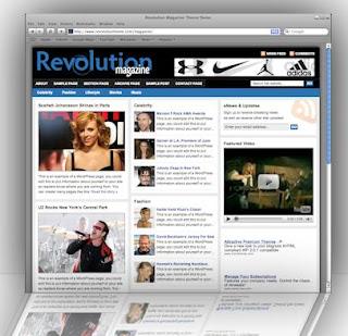 Purchase Revolution WordPress theme