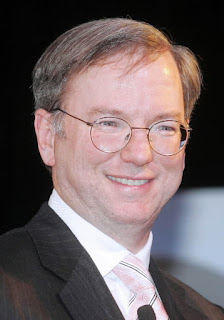 Eric Schmidt, CEO of Google