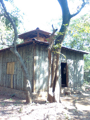 Phansad Wildlife Sanctuary - bamboo house
