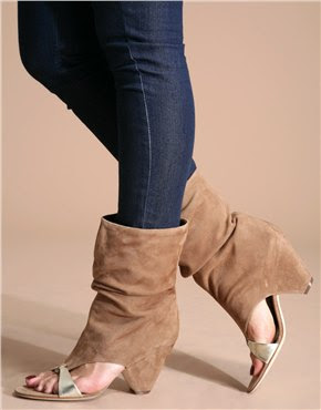 fashion mistake suede boots sandals