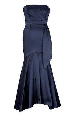 gown dress navy style red carpet