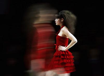 fashion catwalk runway show vogue