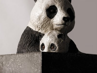 charity art project nature panda