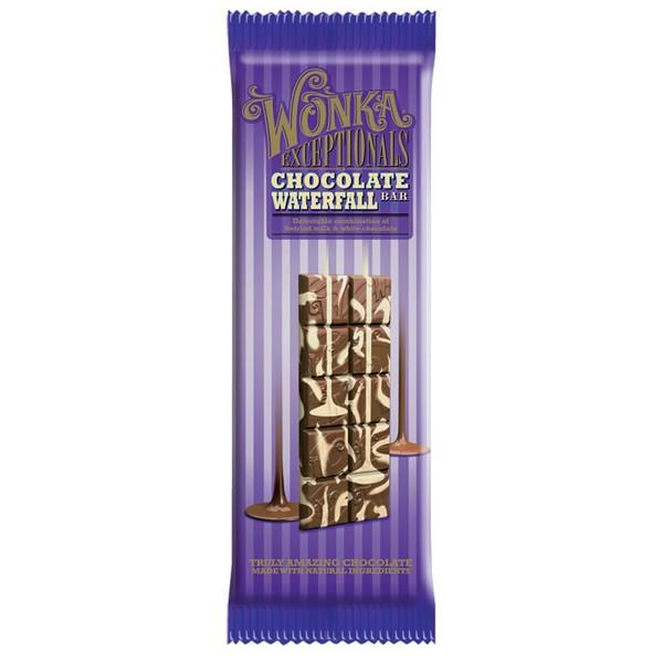 Wonka Exceptionals Chocolate Waterfall Bar